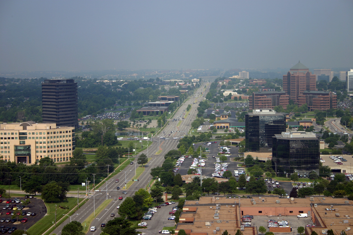 View of Overland Park Kansas
